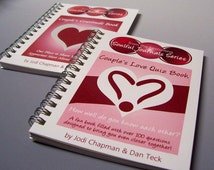 Just for Couples Journals - Quiz Book and Gratitude Book