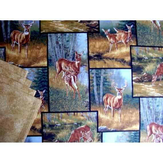 Deer Placemats, Deer Décor, Placemats and Napkins