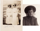 Warily They Go to the Sea - 2 Vintage Photographs