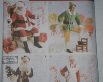 Unique Santa Suit Pattern Related Items Etsy