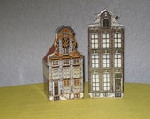 Set of 2 row houses from Holland