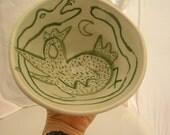 bird  and snake bowl
