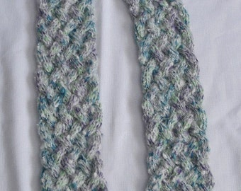 Twisting Ocean Tide in a Wool and Mohair Blend 4.5 x 83