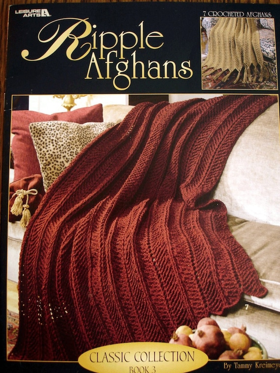 NEW LA3153 Ripple Afghans Classic Collection Book 3