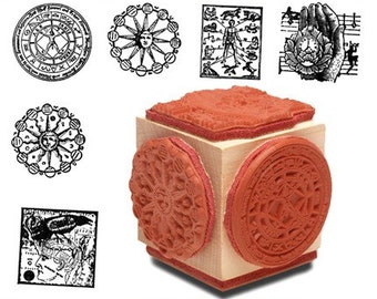 Alchemy Astrology Rubber Stamp Set