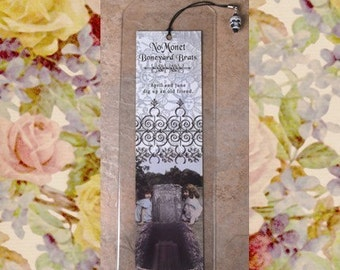 April and June Dig Up an Old Friend Bookmark - Dark Humor