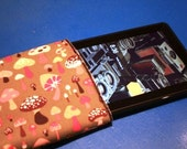 Kindle Fire Sleeve with fleece interior w/velcro fold over closure