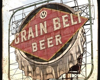 Grain Belt 5x5 Fine Art Photo