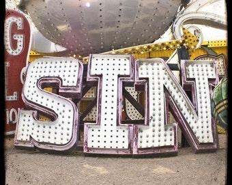 Sin 5x5 Fine Art Photo