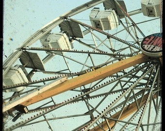 Ferris Wheel 5x5 Fine Art Photo