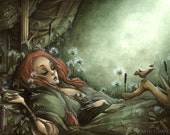 The Sleeping Beauty - 8x12 in. Fine Art Giclee Print - Limited Edition of 25