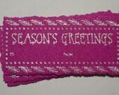 Seasons Greetings Gift Tags