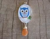 RESERVED FOR NIKKI Owl Pendant