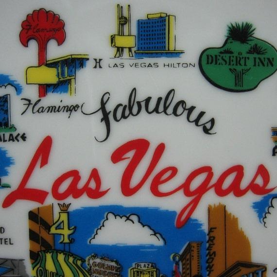Las Vegas Souvenir Plate
