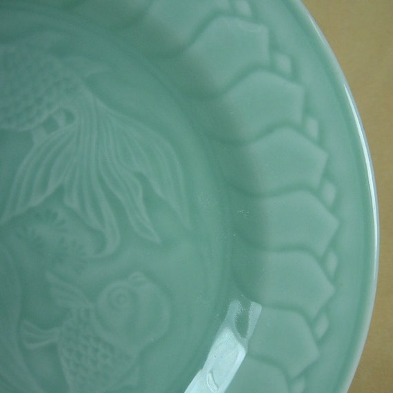 Lillian vernon celadon green koi fish by kickstandproductions for Green koi fish