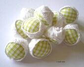 Funky Fabric Beads