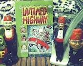 Self Published Comic Book - Untamed Highway Issue 2 - Tiki Retro Kustom Kulture Secret Society Kitsch
