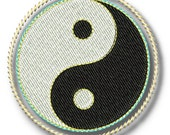 YinYang Symbol - PES INSTANT DOWNLOAD - Machine Embroidery Designs