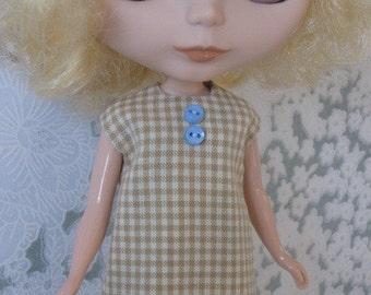 Blythe Check it Out A-Line Dress