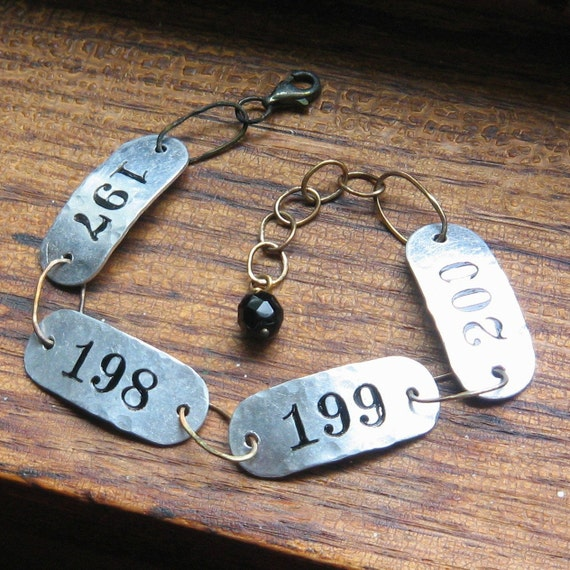 197 to 200 Bracelet In Aluminum, Brass and Sterling
