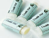 Double Mint Lip Balm - Oval Tube