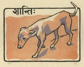 Peace - Original Woodblock Print
