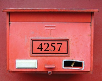 Address Numbers for front door or mailbox