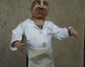 Marko the butcher -nylon head needle sculpted doll-PDF pattern