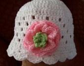 Baby Cloche Pattern  /Hat /Cloche Newborn Girl Photo / Baby Hat Pattern / Instant Download