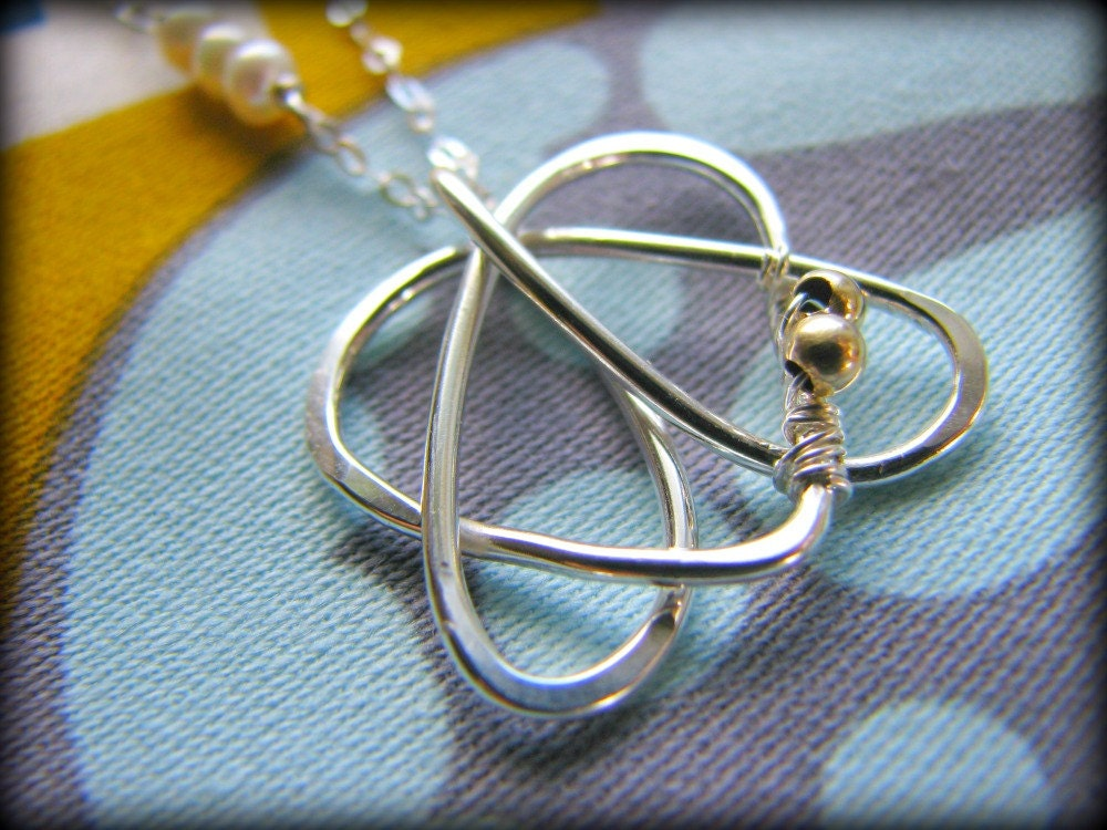 Celtic Sister Symbol Necklace