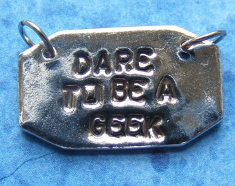 Dare to be a geek Necklace