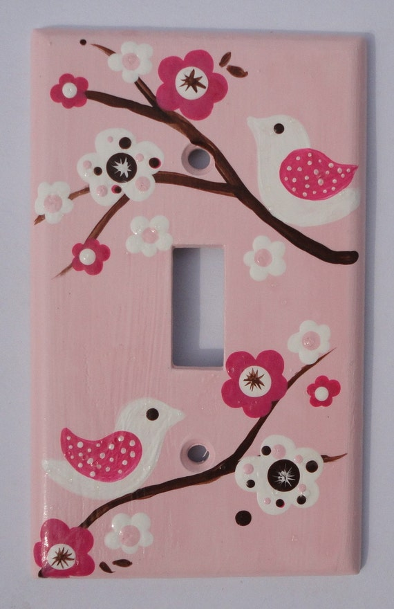 Items Similar To Custom Hand Painted Switch Plate Cover