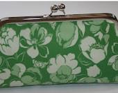 Clutch Purse Handbag Lucky Charm Green