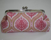 Bridesmaid Clutch in Pink Confection