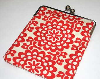 iPad case / iPad cover / iPad sleeve / iPad retina case / iPad 2 case - Red Cream Wallflower