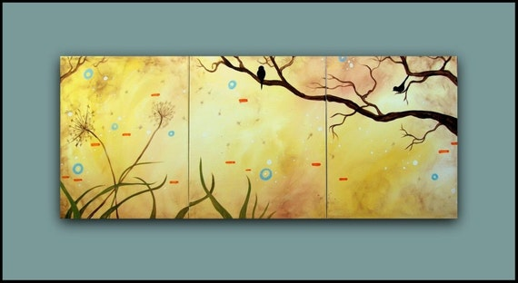 Large Original Painting...HUGE Original Abstract Contemporary Modern Art Diptych Painting by HD Greer