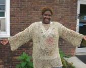 KNIT TUNIC SWEATER,  hi low sweater, High low tunic sweater, Asymmetrical Loose knit sweater  Knit oversize Tunic sweater, womens sweater