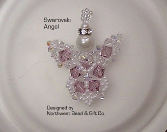 Tutorial, Swarovski Angel - Instant Download