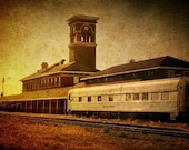 Titletown Brewing Company, Green Bay Wisconsin, Beer, Train, Micro Brewery - Home Decor