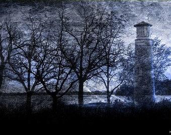 Asylum Point Lighthouse Fine Art Photograph - Home Decor