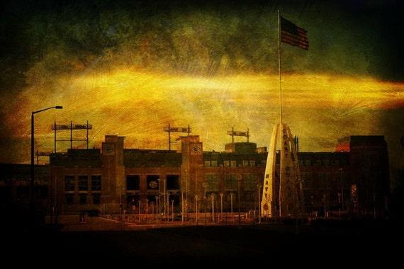 Lambeau Field - Green Bay Packers - Fine Art Photograph - Home Decor