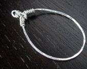 Sterling Silver Loop Pendant
