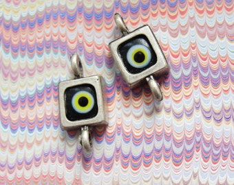 Evil Eye Connectors charms