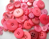 Botan Buttons Passion girlie PINKS - 50g or 2oz