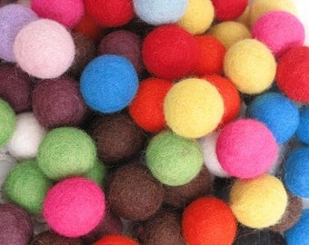 Felt Balls Wholesale Pack x320 Fat 2cm