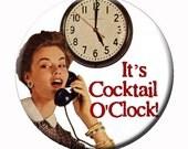 Cocktail O'Clock Button