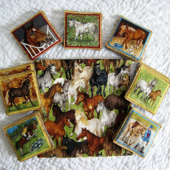 Equestrian Memory Matching Game - Educational for Children