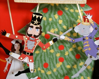 Puppet Theater- Nutcracker Suite- PDF Printable Download