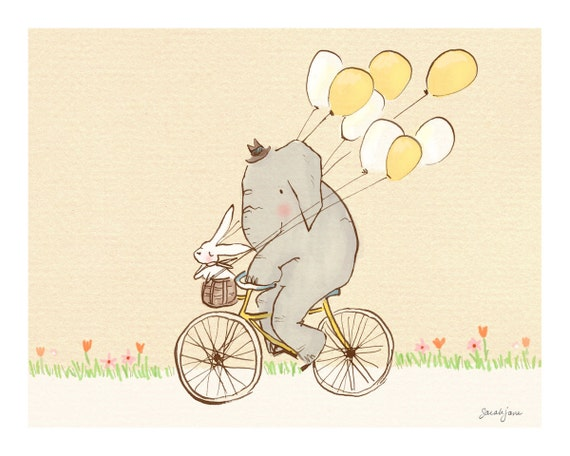 Children's Wall Art Print - Wellesley & Winslow Summer Ride