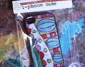 IPhone 4 Case with Patterned Painting